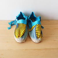 Kids espadrille / african turquoise