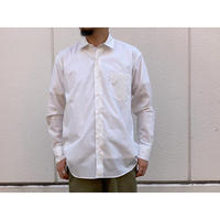 SCYE / Washed Poplin Boxy Regular Collar Shirt (オフシロ)
