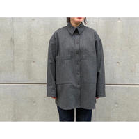 STUDIO NICHOLSON / WATER REPELLEMT WOOL OVER SHIRT