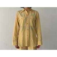 AURALEE / SILK COTTON CLOTH BIG SHIRTS
