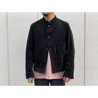 SCYE / Cotton Corduroy Stand Collar Work Jacket