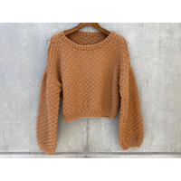 NIDO / CROP CHICKPEA SWEATER