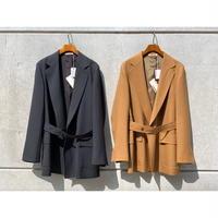AURALEE / WOOL CUPRA LINEN CLOTH JACKET