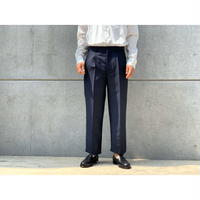 SCYE / WOOL MOHAIR TROPICAL TAILORED TROUSERS