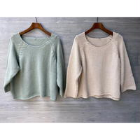 nido / CROP SWEATER