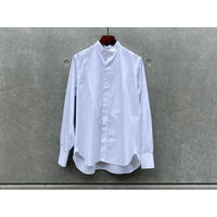SCYE / GIZA Cotton Poplin Band Shirt