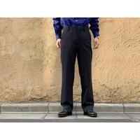 AURALEE / HARD TWIST WOOL DOBBY SLIT SLACKS