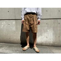NEAT / Cotton Line Oxford Cargo Shorts