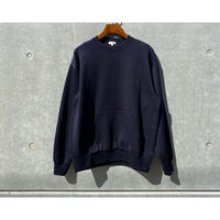 SCYE / Double Faced Cotton Crewneck TOP