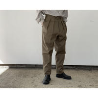 NEAT / COTTON PIQUE (TAPERED)