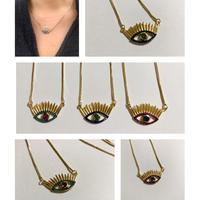 eyelash necklace