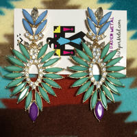 RPM  tribal earrings