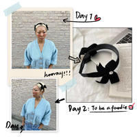 Double  ribbon head band