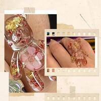Happy bear ring