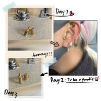 cup&bottle earrings