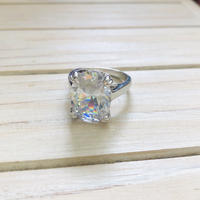Princess big stone ring