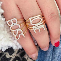 BOSS/LOVE ring