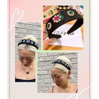 Flower bijoux headband