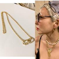 Double clasp necklace