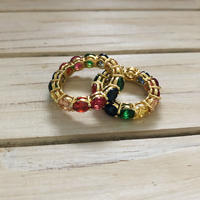 rainbow candy ring