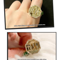 LOVE plate ring