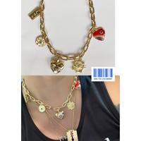 Gold Amulet necklace