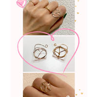 14k gold filled Peace ring by Kay style jewelry