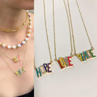 HLP colored necklace