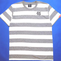 JAIL BORDER S/S Tee GRAY