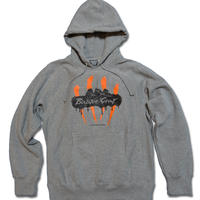 4-SCRATCH HOODED SWEAT (3colors)