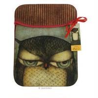 サントロロンドン Santoro London Grumpy Owl iPadスリーブ