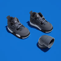 AIR JORDAN 4 RETRO TD COOL GREY