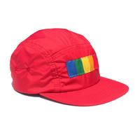 COLOR COMPOSITION PANEL KIDS CAMP CAP RED