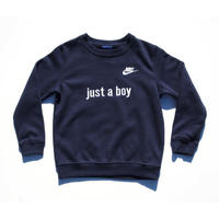 NIKE CUSTOM MADE CLUB CREW NECK SWEATSHIRT