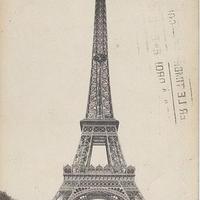 エッフェル塔のポストカード No.67
