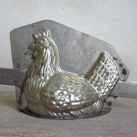 鶏型チョコレートモールド