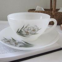 ARCOPAL 水仙のカップ&ソーサー