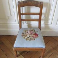 薔薇のタピスリーお子様用椅子