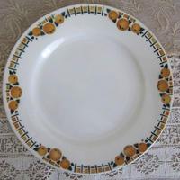 サンアマン窯オレンジ柄デザート皿A