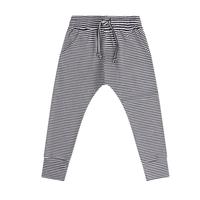 MINGO.   winter slim fit jogger(b/w stripe)