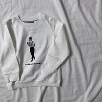 ARCH&LINEL/S BAGLEE  TEE  (WHITE)S/M/L/XL