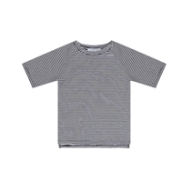 MINGO.   T-shirt ( B/W  stripes)