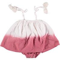tocoto vintage baby tie dye dody dress(pink)