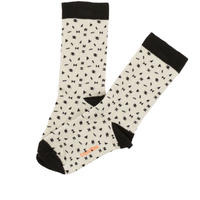 tinycottons folk elements socks(beige/black)