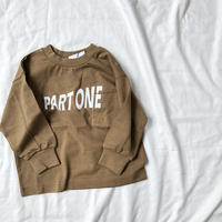 ARCH&LINE PART ONE L/S TEE  (CAMEL)S/M/L/XL
