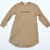 FOV  STANDARD.  L/S ワンピース(キャメル)