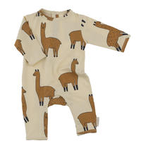 tinycottons llamas onepiece(beige/nude)