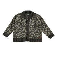 tocoto vintage      Animal print knitted cardigan