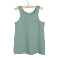 little HEDONIST   TANKTOP MADDY (Chinois Green)