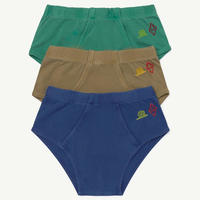 THE ANIMALS OBSERVATORY SLIPS  PACK KIDS  UNDERPANTS